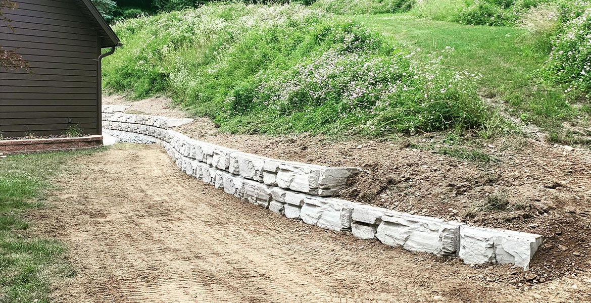 MagnumStone | Retaining Wall | Mountain Valley, PA
