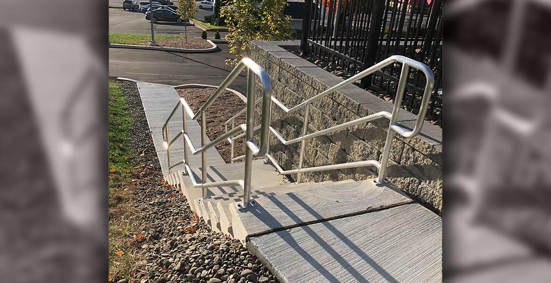 Parking Area Step Rail