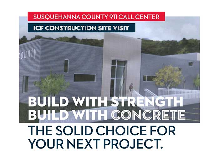 911 Center ICF Construction Site Visit