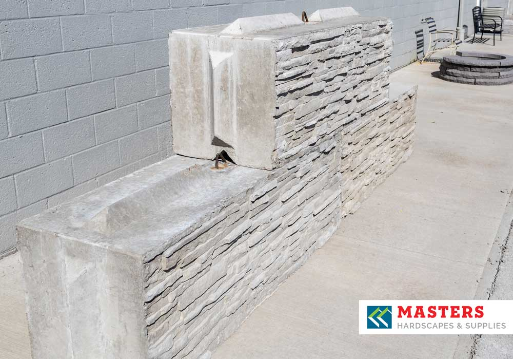 MCP Stacked Stone Bin Blocks