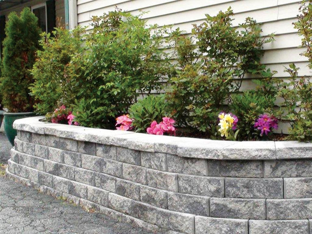 Masters Concrete Hardscapes Liberty Stone Garden Wall
