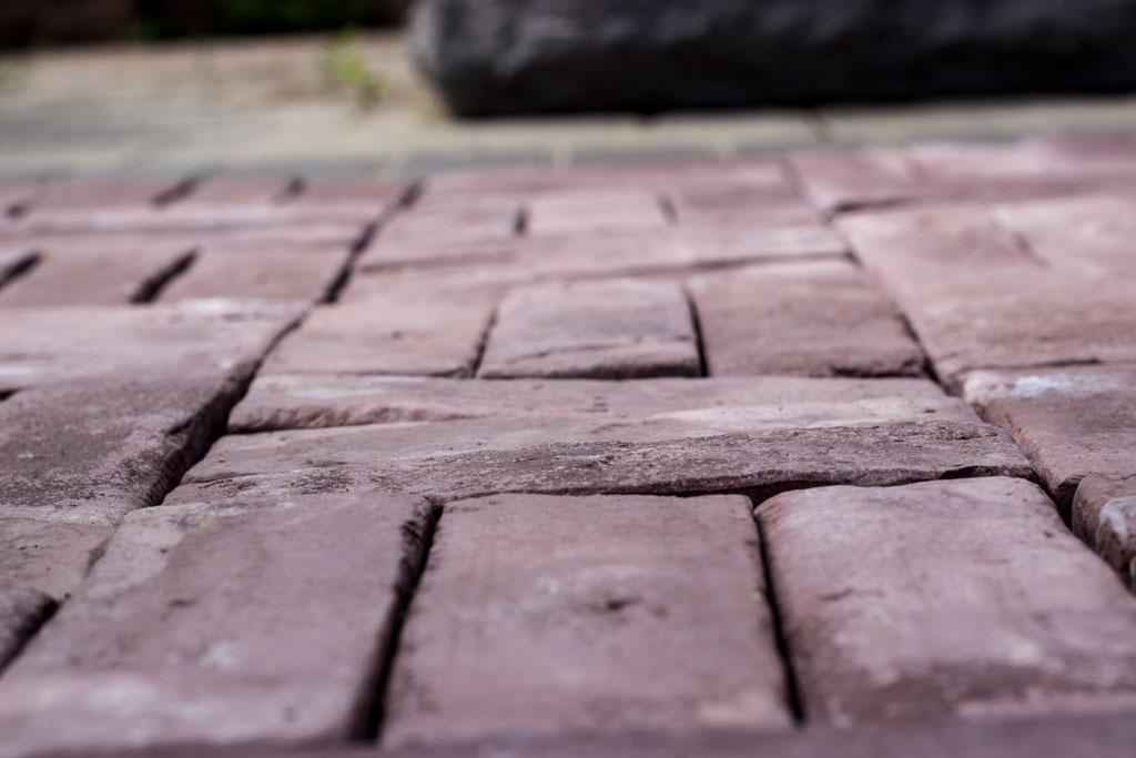 Weathered Brick Pavers