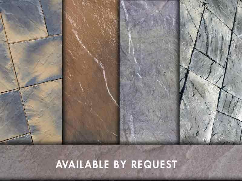 Available By Request | We can hand blend special color options to fit your project. Please call us for further information.